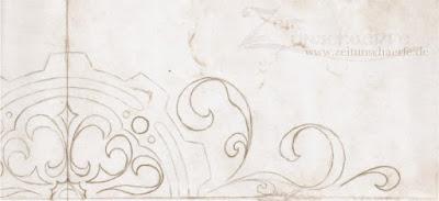 ornamentale Zahnräder - Teil eines alten Blogdesigns | www.zeitunschaerfe.de