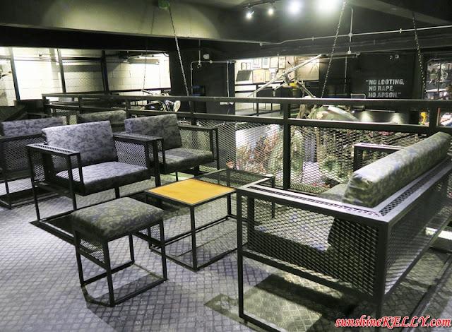 TOKB Café, Malaysia's First Military Concept Café, Kelantanese food, Kelantan Food, Kota Bahru Food, Nasi Dagang, Nasi kerabu, nasi rocket, laksam, teh atom, nasi tumpang