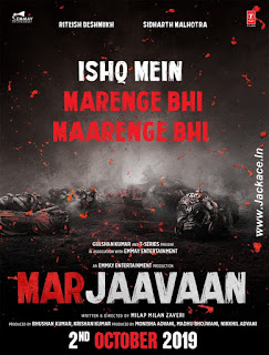Marjaavaan First Look Poster 1