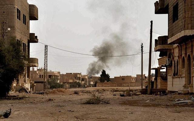 Τζιχαντιστές βομβάρδισαν με αέριο χωριό στη Συρία