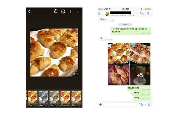 Update WhatsApp untuk iOS menambahkan beberapa fitur filter dan pengelompokan album secara otomatis