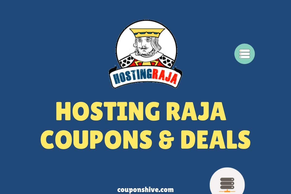 HostingRaja Coupons & Offers - Get 100% Working Web Hosting Coupon codes