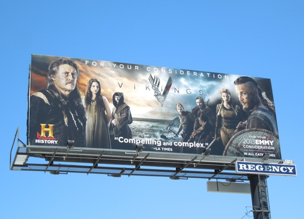 Vikings History Emmy billboard 2013