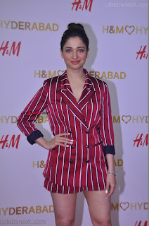 Tamannah Bhatia Exclusive in Red Blazer and Red Shorts Spicy Pics ~  Exclusive 046.JPG