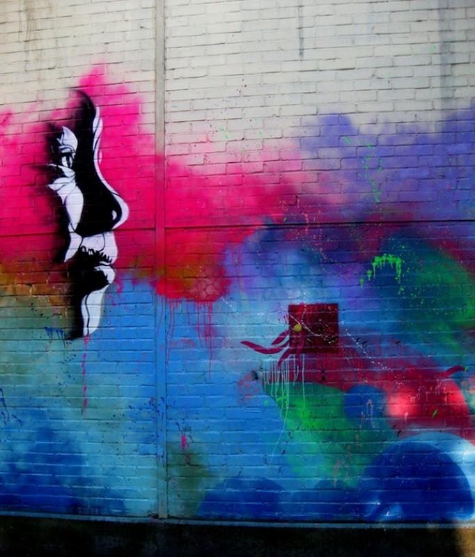 Уличные художники Andrea Michaelsson и Ilya Meyer 4
