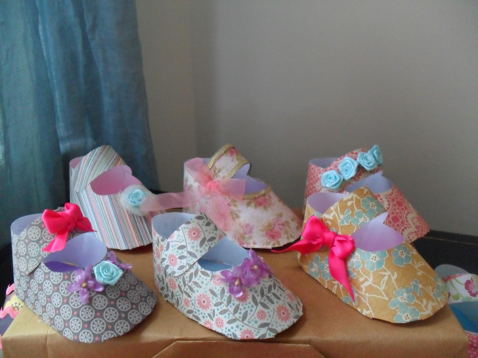Baby Girl Shoe Favors