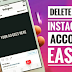 Delete Instagram Account From App