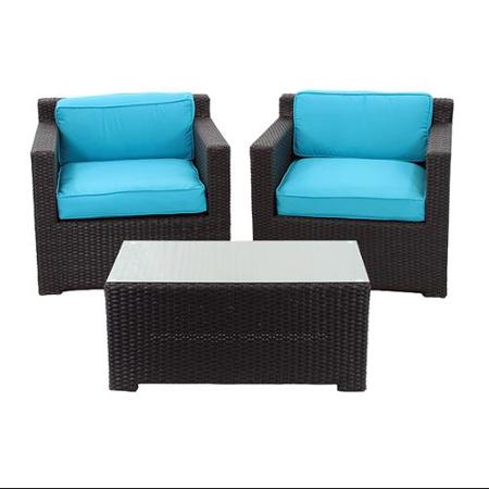 outdoor black wicker 3 piece patio furniture sets ideas