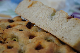 focaccia integrale vegan light