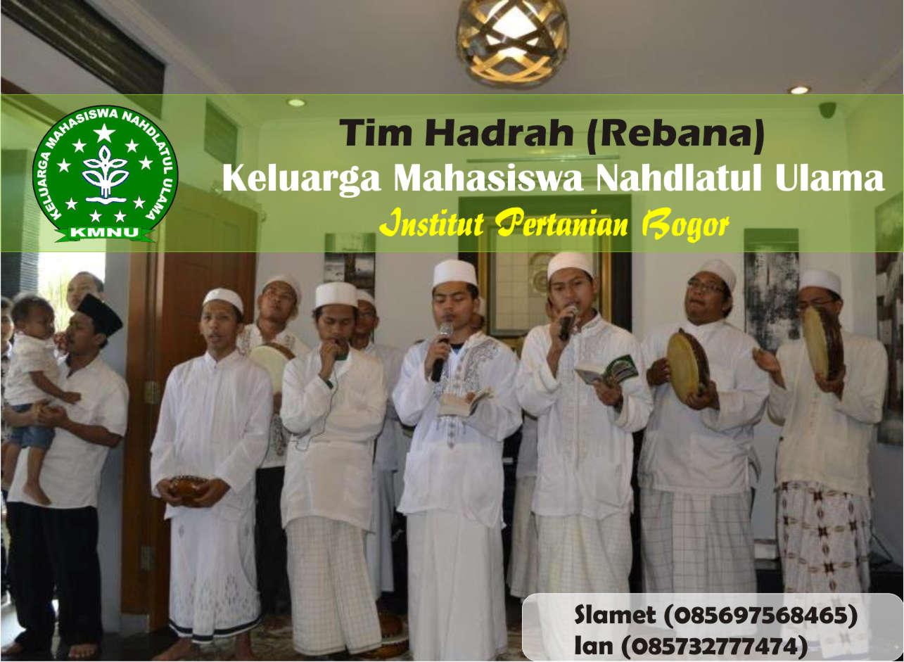 Tim hadrah KMNU IPB