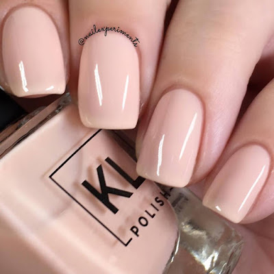 KL Polish Pinky Ethereal Garden Collection Spring 2018 Swatch and Review Nail Experiments