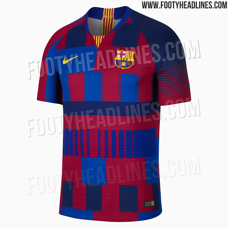 78188d7c8f0 Nike FC Barcelona What The 20th Anniversary Jersey Released - Footy ...