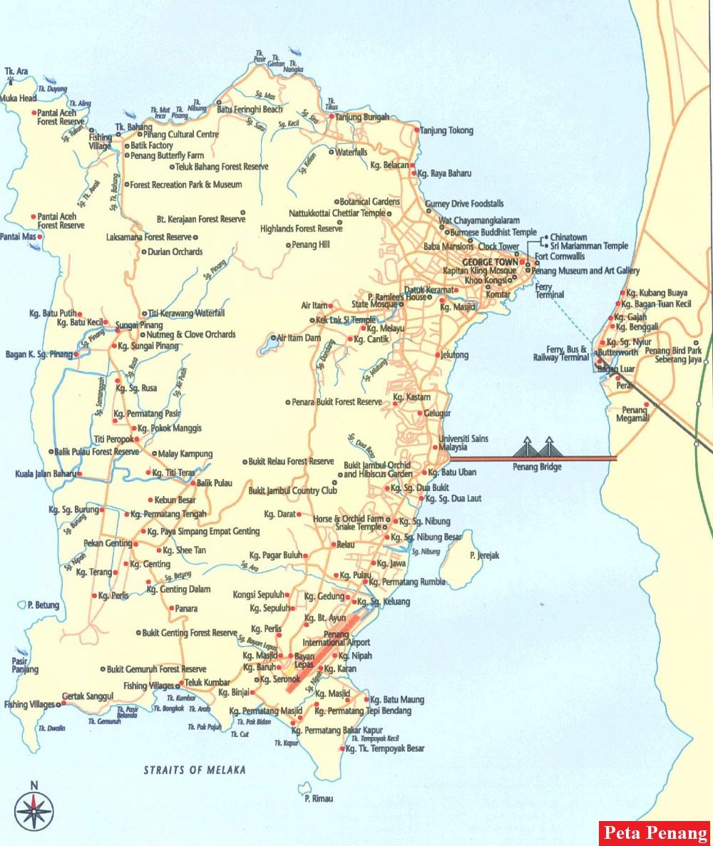 Peta Penang