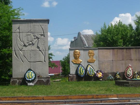 Долина. Воинский мемориал Второй мировой войны
