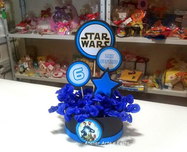 Centros de mesa Star Wars Rococó