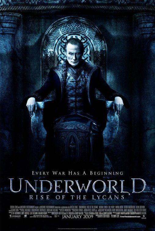 underworld bunt lykanów film recenzja nighy