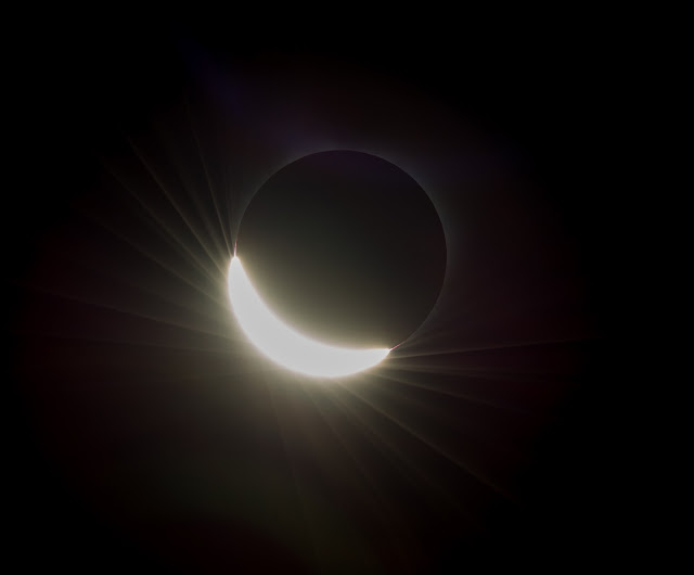 Solar Eclipse seen from Oregon