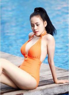Clip bà tưng Lê Thị Huyền Anh bikini nhảy khoe hàng thả rông xinhgai.biz