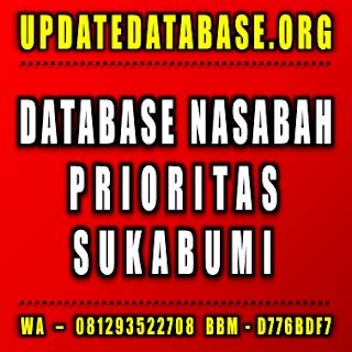 Jual Database Nasabah Sukabumi