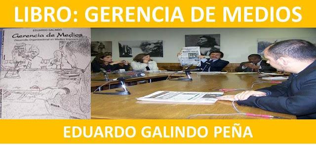 """Proponen a una casa editora dentro o fuera de Venezuela publicación de 2da. Edición de libro """"Gerencia de Medios""""."""