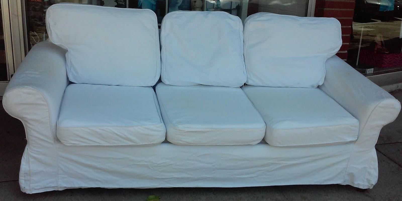 Uhuru Furniture Amp Collectibles Sold Seven Foot Ikea Slip