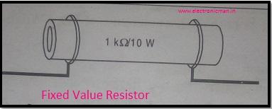 Fixed Value Resistor