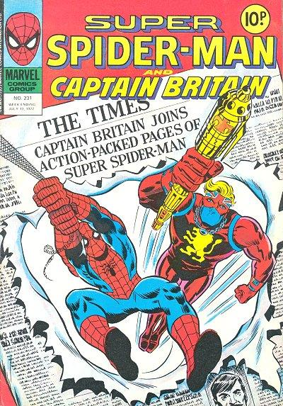 Super Spider-Man and Captain Britain