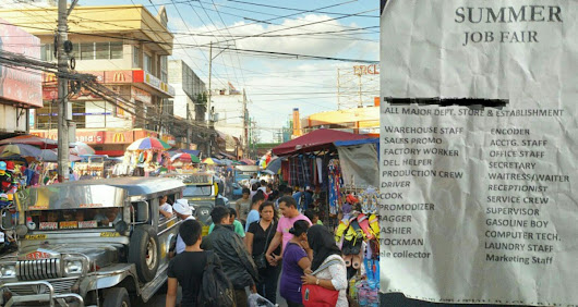 Beware of These Street Job Recruiters in Baclaran, They Were Up for Your Money