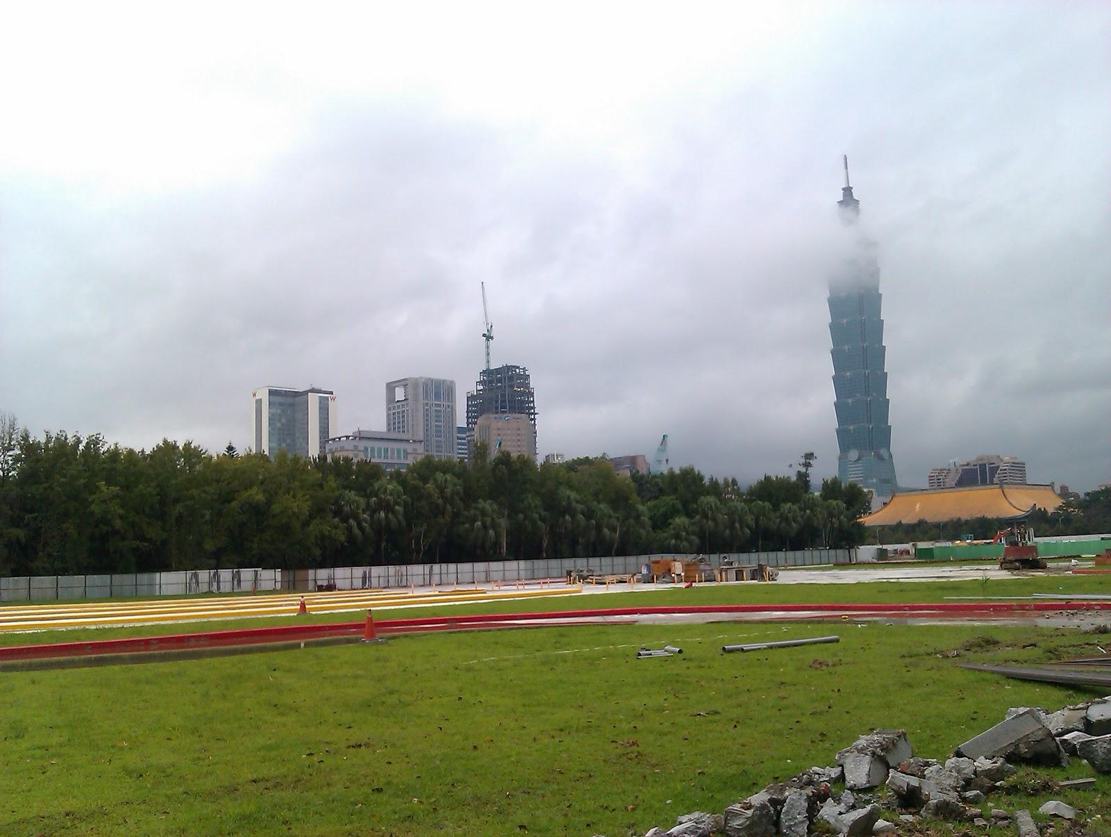 CMC's Blog: 從倫敦都市公園到臺北大巨蛋的聯想