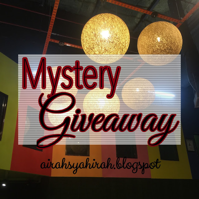 Mystery Giveaway 2017 oleh Airah Syahirah