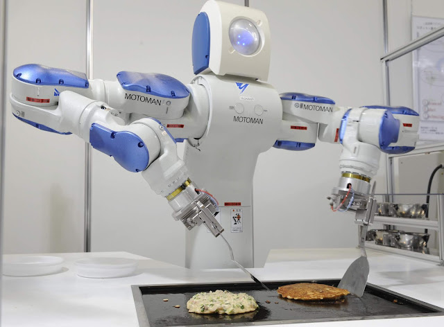 uses of robots in daily life