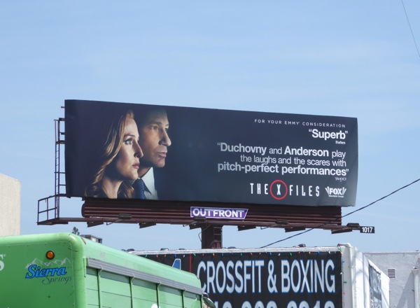 The X-Files 2016 Emmy FYC billboard
