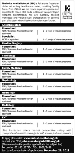 Jobs in Muzafargarh, Jobs for Doctors, Jobs in Turkey Hospital