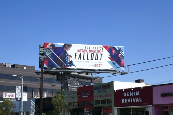 Mission Impossible Fallout billboard