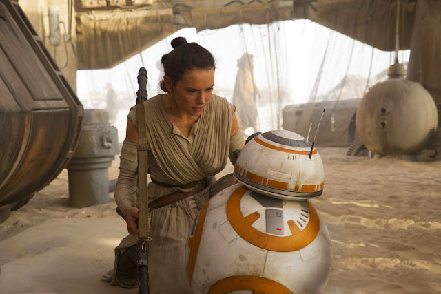 Star Wars The Force Awakens: Rey şi BB8
