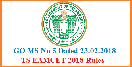 ts-go-ms-no-5-telangana-eamcet-rules-for-admission-engineering-pharmacy-agriculture-dental