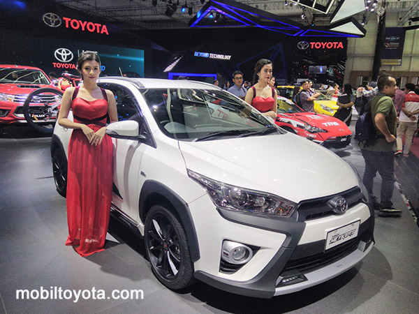 yaris heykers di Pondok Pucung Tangerang