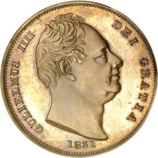 British Coins Farthing 1831 King William IV