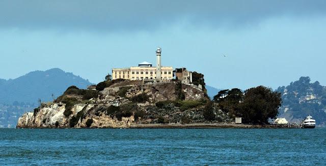 Ilha de Alcatraz na Califórnia