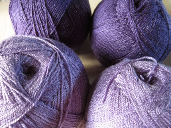 Loops & Threads, Woolike, purple