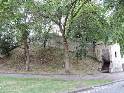 Baile Hill, Entrance to City Walls, York