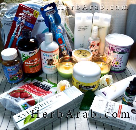 مشترياتي لمنتجات آي هيرب iHerb shopping haul