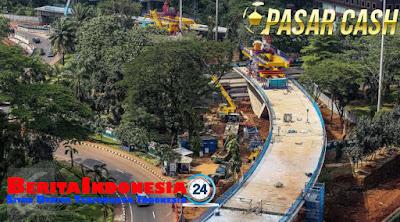 Proyek Simpang Susun Semanggi Akan Diresmikan di Agustus 2017