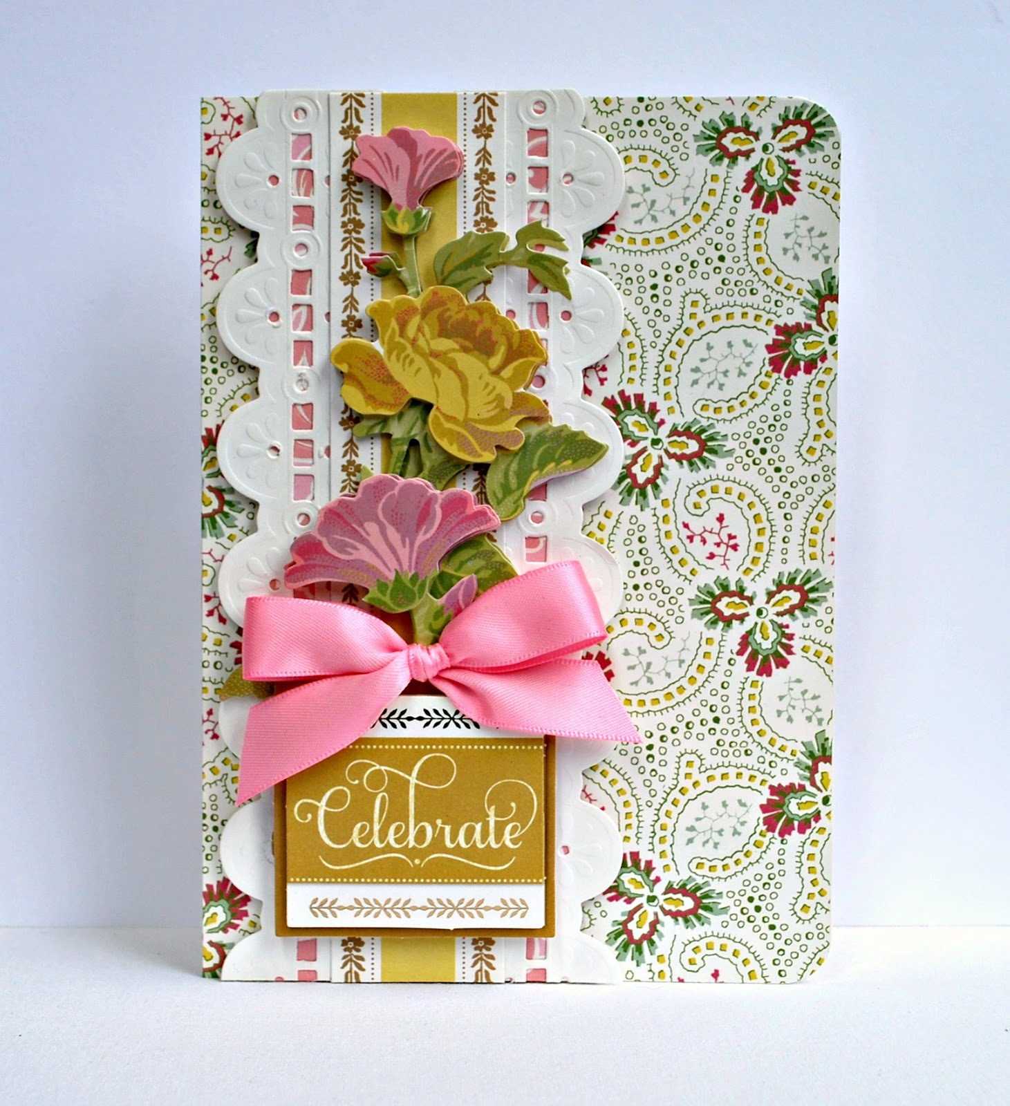 Crafty Creations With Shemaine Anna Griffin Eyelet Border