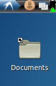 Create 'Documents' folder icon in desktop of LXDE Lubuntu salix peppermint archlinux opensuse fedora gentoo vector zorin porteus