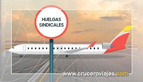 Nueva huelga en aviación. Más de 3.000 pasajeros afectados hoy por la huelga de Air Nostrum