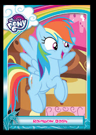 My Little Pony Rainbow Dash Series 5 Trading Card