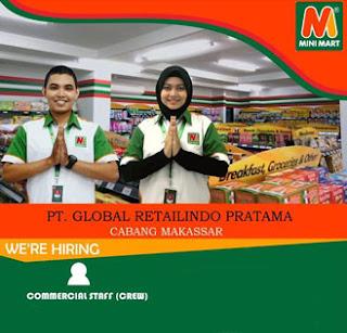 Lowongan Kerja di PT Global Retailindo Pratama Makassar