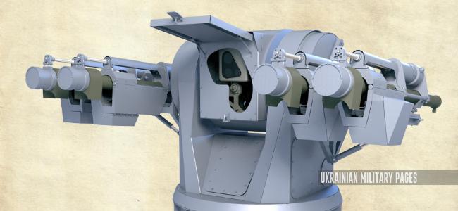 Корабельна зенітно-ракетна система малої дальності «Арбалет-K»