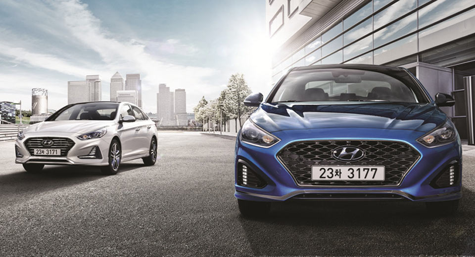 Hyundai Sonata Gets Eight-Speed Auto, New Design